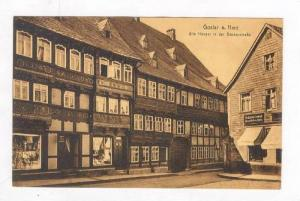 Goslar , Lower Saxony, Germany 00-10s Alte Hauser in der Backerstrasse