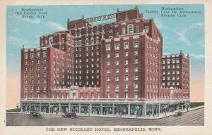 New Nicollet Hotel - Minneapolis MN, Minnesota - WB