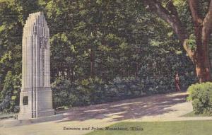 Entrance And Pylon Mooseheart Illinois 1951