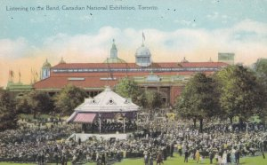 TORONTO, Ontario, Canada, 1900-1910's; Canadian National Exhibition, The Band