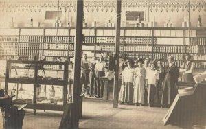 RP: CEDARVALE , Kansas , 1917 ; Grocery Store Interior