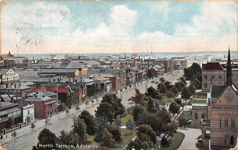 South Australia, North Terrace, Adelaide 1906