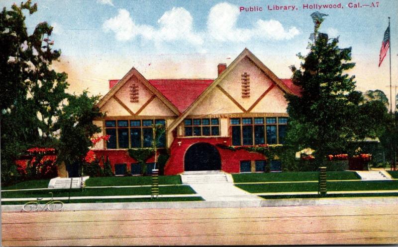 Public Library Hollywood California