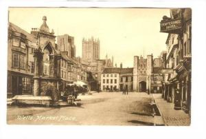Wells, Market Place, TEMPERANCE Hotel, 00-10s ; England