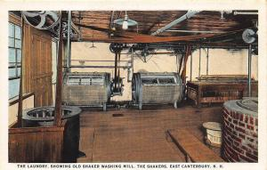 East Canterbury NH The Laundry Old Shaker Washing Mill Postcard