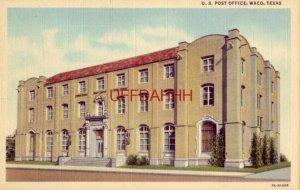 U.S. POST OFFICE, WACO, TX