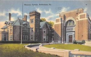 Pennsylvania Bethlehem Masonic Temple