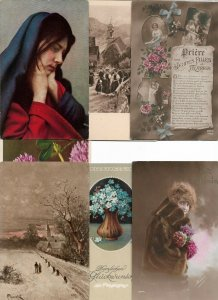 Beautiful Fantasy Women Artist Signed Mixed Postcard Lot of 20  01.15