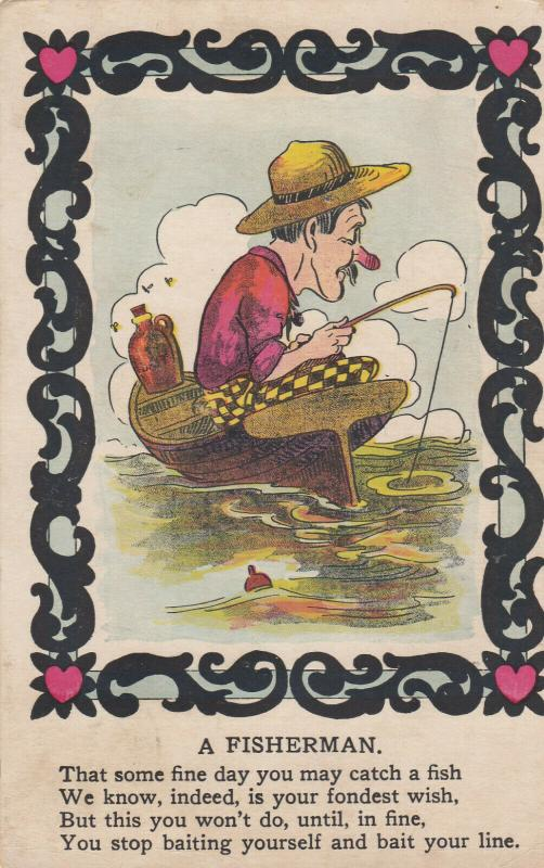 A Fisherman , Poem , 00-10s ; Vinegar Valentine