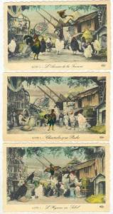 10 Postcards of Chantecler, a play by Edmond Rostand, 1910-20s