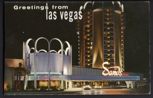 31820) Nevada LAS VEGAS The Magnificent Sands Hotel On the Strip - Chrome