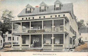 LPS83 Newmarket New Hampshire Hotel Willey Vintage Postcard