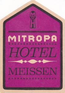 GERMANY MEISSEN MITROPA HOTEL