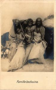 CPA Famille bedouine EGYPT (823069)