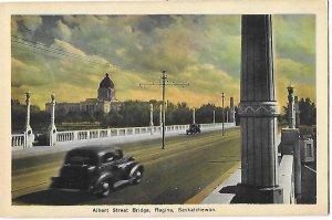 Albert Street Bridge Regina Saskatchewan Canada 1930s