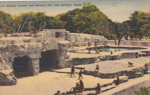 Texas San Antonio Monkey Island San Antonio Zoo