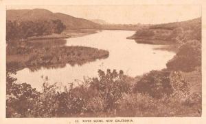 New Caledonia River Scene Scenic View Antique Postcard J79702