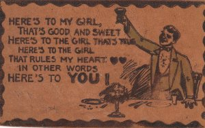 LEATHER ; Here's to my girl , 1901-07
