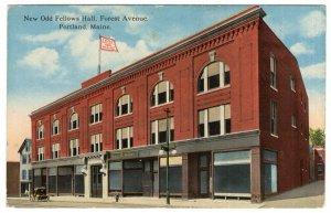 Portland, Maine, New Odd Fellow's Hall, Forest Avenue