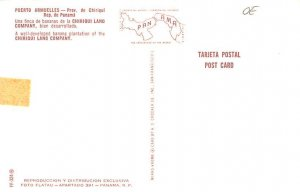 Puerto Armuelles Providence of Chiriqui Panama Tape on back