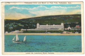 Hotel & Beach ,Tadousac, Quebec , Canada , 00-10s