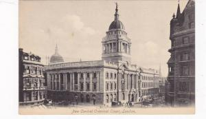 New Central Criminal Court, London, England, UK, 1900-1910s