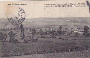 France Langres Manoeuvres de Fortresse Siege de Langres Le Camp de Villiers-S...