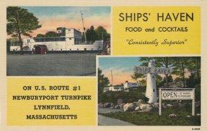 LYNNFIELD , Massachusetts, 1930-40s ; Ships' Haven Restaurant