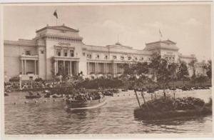 Crowded Rowboats on Lake at Canadian Pavilion, British Empire Exhibition, Wem...