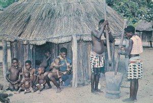 B'Tonka Village Life in Rhodesia, Africa (Now Zimbabwe) - pm 1972