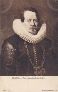 Rubens Portrait de Charles de Cordes Musee de Bruxelles