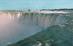 Canada Ontario Niagara Falls The Horseshoe Falls Roars A Mighty Welcome Taken...