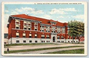 Ann Arbor Michigan~University of Michigan~Dental Building~Dentistry~1920
