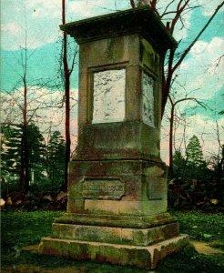 Vtg Postcard 1907 Frankfort Kentucky KY Daniel Boone Monument