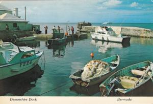 DEVONSHIRE DOCK, Bermuda, PU-1977; Fisherman's Anchorage, Fishing Boats