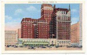 Adolphus Hotel, Dallas, Texas, 1930-40s