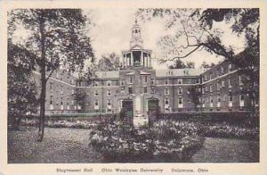 Ohio Delaware Stuyvesant Hall Ohio Wesleyan University Albertype