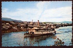 Yukon WHITEHORSE Voyage Yukon River Dawson City Paddlewheeler S.S. Keno - Chrome