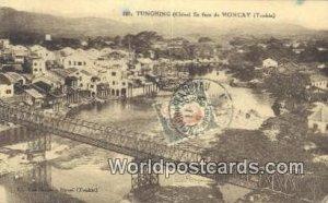 Chine En Face de Moncay, Tonkin, Tunghing Tunghing Vietnam, Viet Nam 1911 Sta...