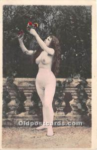 Nude Postcard Paris Unused