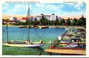 Florida St Petersburg Central Yacht Basin