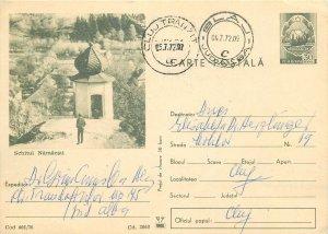 Romania postal stationery postcard Religious Schit Namaesti
