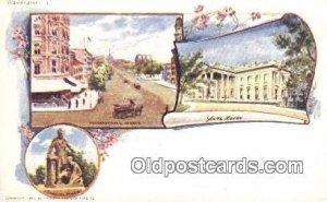 By American Souvenir Card Co. 1897 Washington Patriographics Unused yellowing...