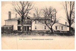 Pennsylvania Philadelphia    Stephen Girard Homestead