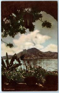 LAKE ATITLAN, GUATEMALA    Vertical Scenic View   c1940s    Postcard