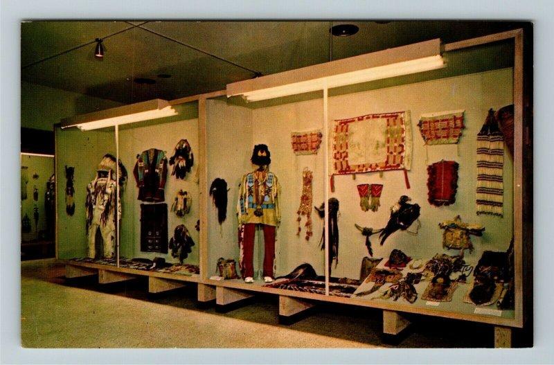 Cody WY- Wyoming, Whitney Gallery of Western Art Larom Collection ChromePostcard