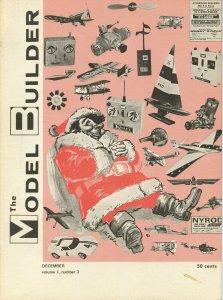 Vintage The Model Builder Magazine December 1971