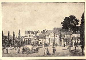Germany Leipzig Peters Tor Circa 1830 1947