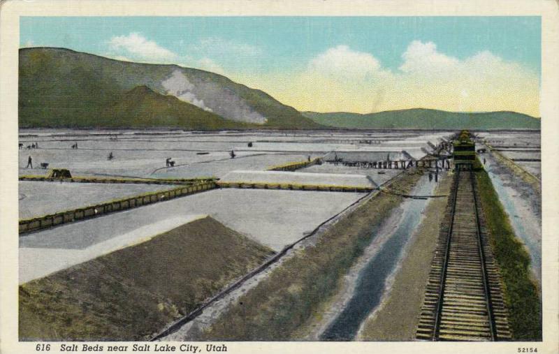 Salt Beds near Salt Lake City,Utah,00-10s