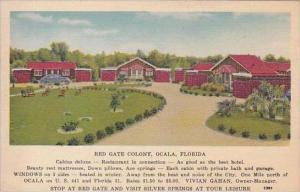 Florida Ocala Red Gate Colony